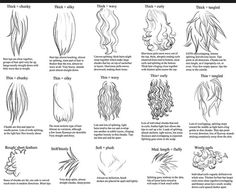 Cool ways to draw hair x