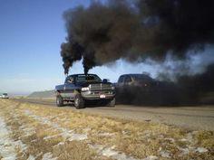 Image Detail for - Diesels rolling coal, diesel smoke : theTHROTTLE