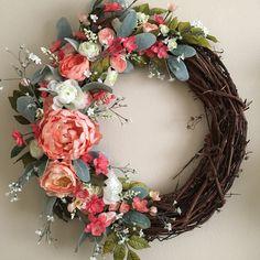 32 best for sale images on pinterest grapevine wreath silk summer wreath spring wreath summer decor spring decor home decor fake floral silk flower wreath artificial floral mightylinksfo