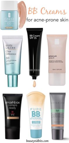 Best BB Creams for acne-prone skin