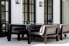 Chairs And Tables 'Passage' By Unopi # . Spring Fever: Wondrous Outdoor Lighting For 2017 Patio . Kitchen Countertops Prices, Blue Granite Countertops, Outdoor Lounge Furniture, Outdoor Dining, Outdoor Pool, Patio Chairs, Table And Chairs, Outdoor Plastic Chairs, Painted Rocking Chairs