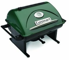 Cuisinart GrateLifter Portable Charcoal Grill - - Superior outdoor cooking with the flavor of charcoal and the quality and convenience of Cuisinart. The Cuisinart GrateLif Portable Charcoal Grill, Best Charcoal Grill, Portable Grill, Charcoal Bbq, Portable Table, Gas Grills On Sale, Grill Sale, Barbecue Smoker, Camping Stove