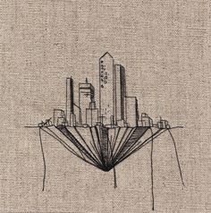TINY CITY by Andrea Farina, via Behance