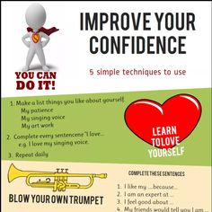 Improve Your Confidence.