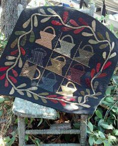 Cheri Payne - sweet primitive baskets....great border!!!!