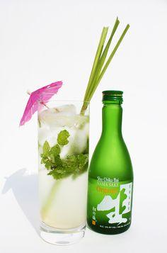 Asian Fusion Sake Mojito