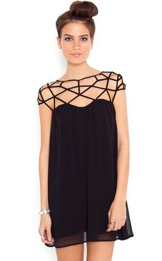 Shop Black Girl Cut Out Shift Chiffon Mini Dress online. SheIn offers Black  Girl Cut Out Shift Chiffon Mini Dress & more to fit your fashionable needs.