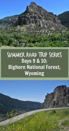 Bighorn National Forest is a great half way point from Yellowstone National Park to Glacier National Park.
