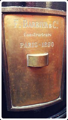 F. Barbier & C. Constructeurs - Paris 1890. Empresa constructura del Faro de Punta Mogotes #MarDelPlata