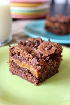 Baked Perfection: Caramel Brownies