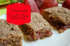 Cereal Bars-Gluten Free & VEgan