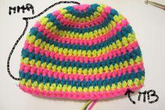 Come si fa un Cappello MYBOSHI: Tutorial passo passo! www.lunadeicreativi.com