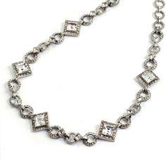 """sweet romance"" Harlequin deco necklace"