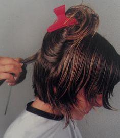 Como cortar el cabello melena concava cortes de - Cortar el pelo en casa hombre ...