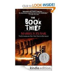 The Book Thief [Kindle Edition], (book recommendations, historical fiction, holocaust, kindle, kindle book club, death, defectivebydesign, kindle book, markus zusak, drm)