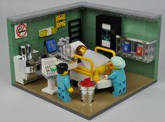 1 | by biedrusek Lego Design, Baby Alive, Lego City, Legos, Lego Hospital, Medical Robots, Sock Monkey Pattern, Box Container, Lego Activities
