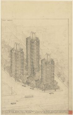 "Museum of Modern Art (MoMA)  |   ""Frank Lloyd Wright and the City: Density vs. Dispersal""  exhibotion opens February 1"
