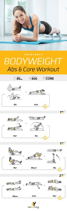 Great core workout. Literally feel your mid-section getting tighter