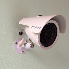 Kit DVR con disco duro de 1TB, grabación inteligente, envió de alertas vía correo y por medio de Zsight, con cámaras de 600tvl y visión nocturna. Conexión P2P. Consúltenos #nekocr #zmodo