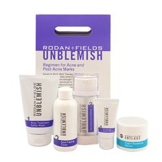 If you feel like you're too old for acne and too young for wrinkles but you have both, there's a solution for you. Take control of your acne and treat the visible signs of aging with our UNBLEMISH Regimen combined with ANTI-AGE Night Renewing Serum. For a limited time only when you buy this package you will save 50% on our ANTI-AGE Night Renewing Serum.