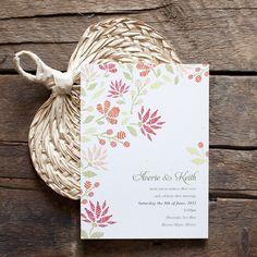 Embroidered wedding invitations Wedding Embroidery, Floral Theme, Paper Goods, Wedding Invitations, Bee, Stationery, Studio, Frame, Inspiration