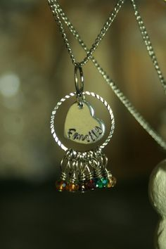 Hey, I found this really awesome Etsy listing at https://www.etsy.com/listing/230382088/personalized-hand-stamped-family-mom