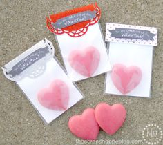 Homemade Glitter Chalk for Valentine's Day - The Scrap Shoppe