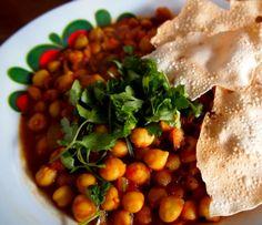 Recept voor Indiase (vegan) Chana Masala. Een gezond, supermakkelijk en heerlijk gerecht.