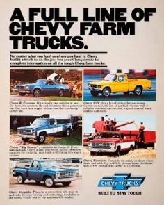1976 Chevy Truck Ad