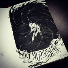 If you like horror artwork, you'll probably remember artist Shawn Cross and his series of eerie illustrations . Creepy Drawings, Dark Drawings, Dark Fantasy Art, Art Sinistre, Horror Artwork, Deep Art, Cross Art, Scary Art, Arte Horror