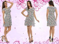 Vă prezentăm un nou model de rochie care face parte din stocul magazinului Adrom Collection. Aceasta e lejeră, cu diferite imprimeuri colorate, în ultimele tendințe ale sezonului de primăvară-vară 2016 și se poate achiziționa online în sistem en-gros de aici: http://www.adromcollection.ro/rochii/163-rochie-angro-5775.html