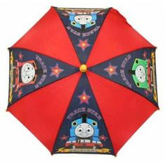 Children's Character Umbrella - Thomas the Tank & Friends. Now this is the way to start a board on Pinterest - Thomas the Tank Engine. Get in there my son!