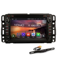 Generic Car Stereo In Dash GPS Navigation Android 4.4 System for Acadia with Rear Camera 7 Inch