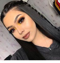 U-Part Lace Front Wigs Brazilian Human Hair straight Long Wigs Prom Makeup Looks, Cute Makeup, Party Makeup, Awesome Makeup, Cheap Makeup, Glam Makeup, Gorgeous Makeup, Makeup Geek, Wedding Makeup