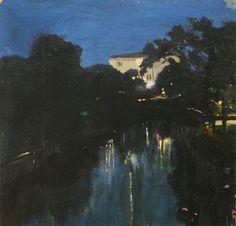 """padegs:  Kārlis Padegs (1911–1940) """"Opera at Night"""" 1932 - 1933"""