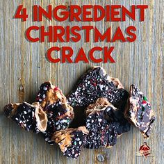 Put this on the blog (finally) due to popular demand. 4 ingredient Christmas Crack for all your holiday gift giving, pot luck going, party having needs.