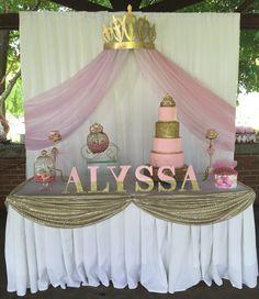 Princess Baby Shower Party Ideas Jameka Babyshower Baby Shower
