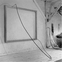 """Eva Hesse, Hang Up, 1966, including in """"On Line"""", curated by ..."""