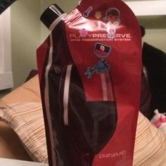 Wine Preservation System or water bottle for the wee ones?