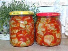 kulinarnyswiatdomi: Sałatka z ogórków z koncentratem pomidorowym