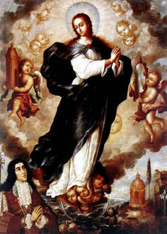 Juan Correa, Immaculate Conception, 1701, oil on canvas, Convento de las Madres Dominicas, Tudela.
