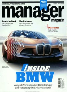 Inside BMW. Gefunden in: manager magazin, Nr. 11/2016