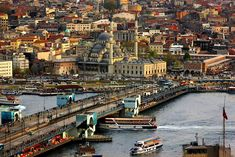 'Streets of Istanbul' by Hercules Milas Best Language Learning Apps, Visit Turkey, Over The Bridge, Istanbul Turkey, Istanbul City, Beautiful Places In The World, Covent Garden, Hercules, Paris Skyline