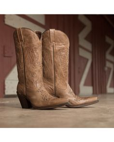 Eight Second Angel Women's Adrianna Boot - Distressed Copper