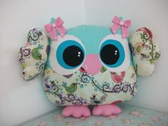 Almofadinha Coruja- Owl Pillow www.facebook.com/little.things.vc
