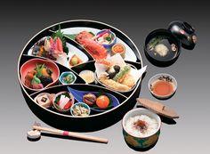 Kaiseki is a tradional Japanese dinner. It's nice and beautiful. http://en.wikipedia.org/wiki/Kaiseki