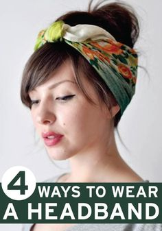 Find out the best ways to style our favorite hair accessory more