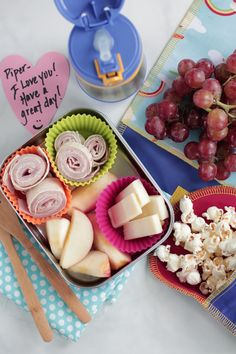 tips for packing healthy lunches kids