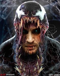 """You are watching the movie Venom on Putlocker HD. When Eddie Brock acquires the powers of a symbiote, he will have to release his alter-ego """"Venom"""" to save his life. Venom Comics, Marvel Comics, Marvel Venom, Marvel Villains, Marvel Comic Universe, Marvel Heroes, Marvel Avengers, Dc Universe, Deadpool Comics"""