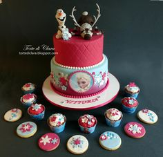 Frozen cake - Cake by Clara